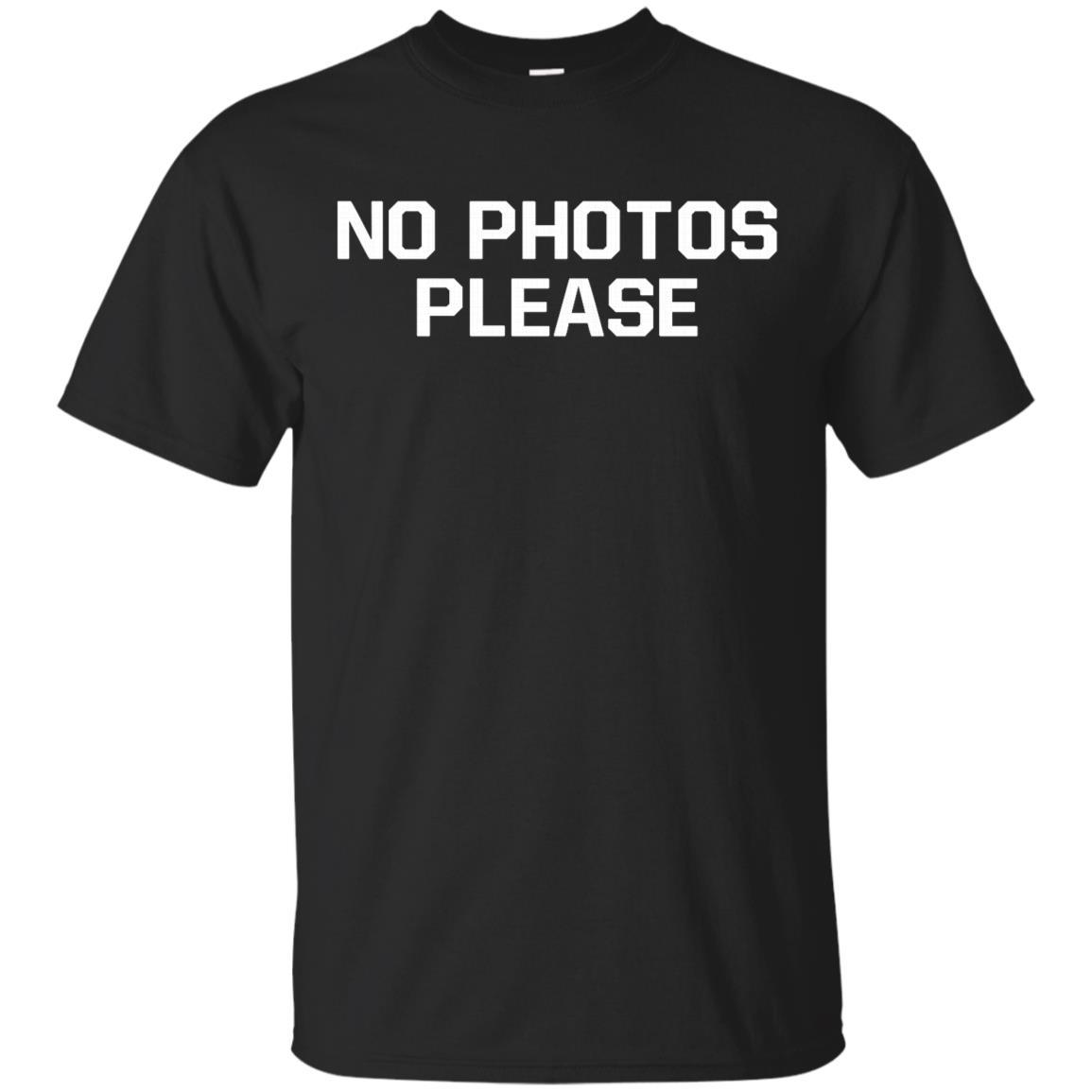 No Photos Please Ugly Christmas Sweater Sweatshirt G Unisex Short Sleeve