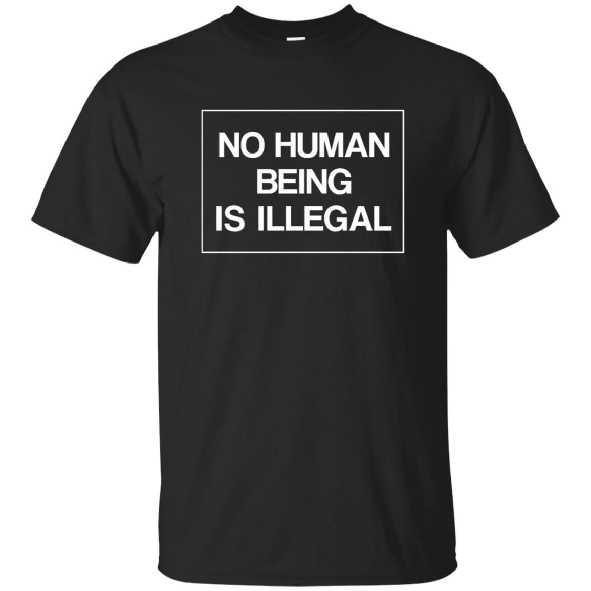 No Human Being Is Illegal Unisex Short Sleeve