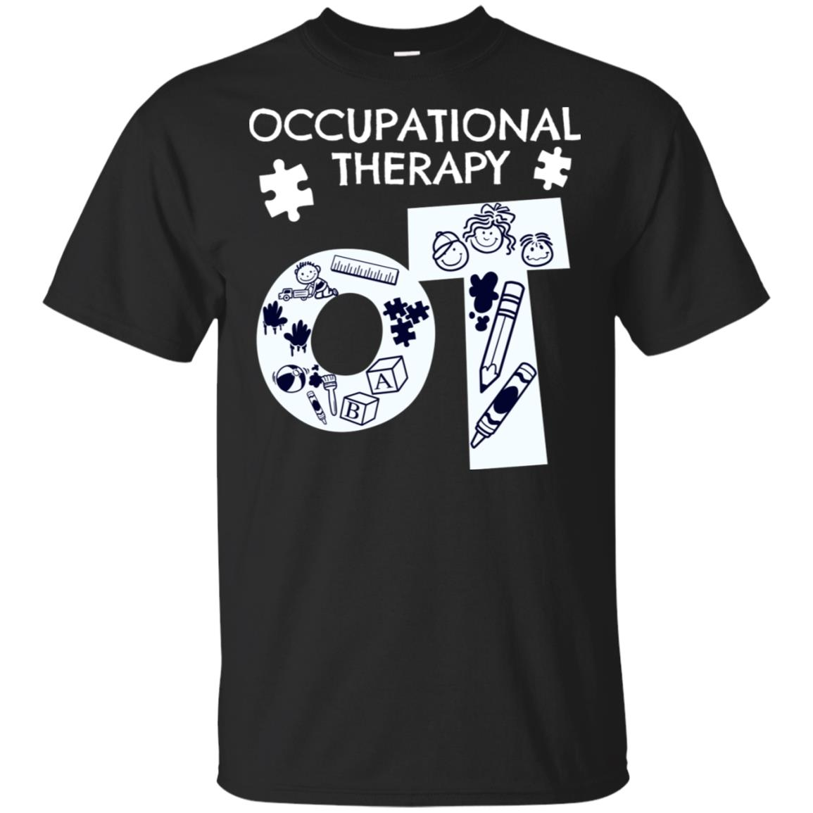 Occupational Therapist Ot Therapy Present Unisex Short Sleeve