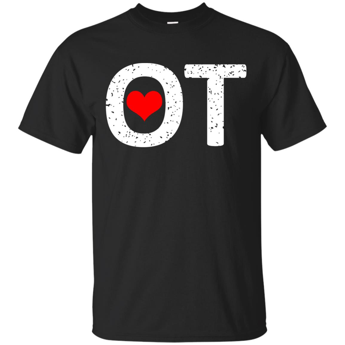 Occupational Therapy Ot Squad Heart Unisex Short Sleeve