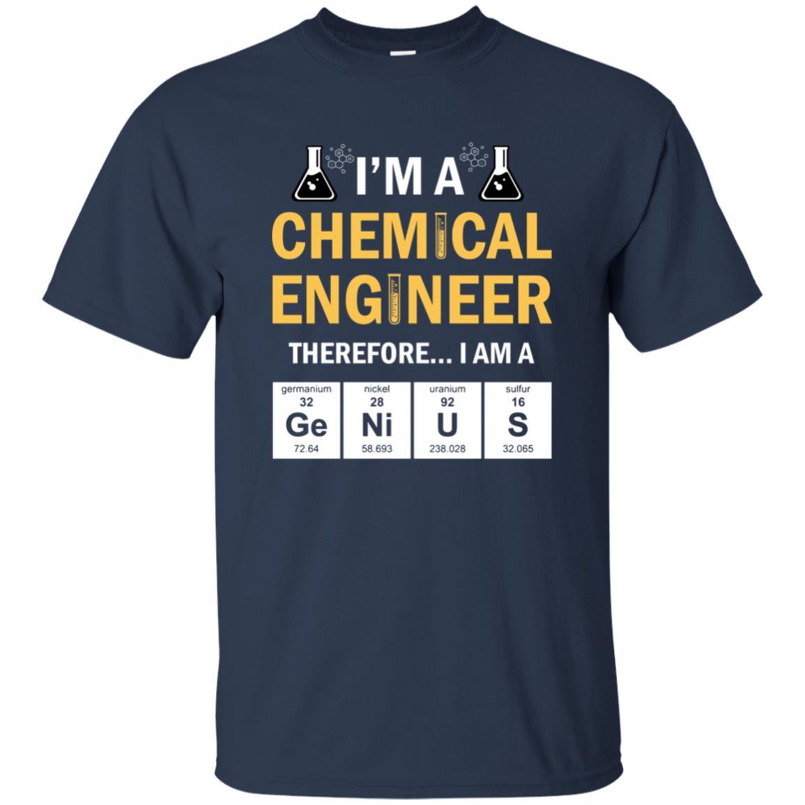 Funny Chemical Engineer Genius Unisex Short Sleeve