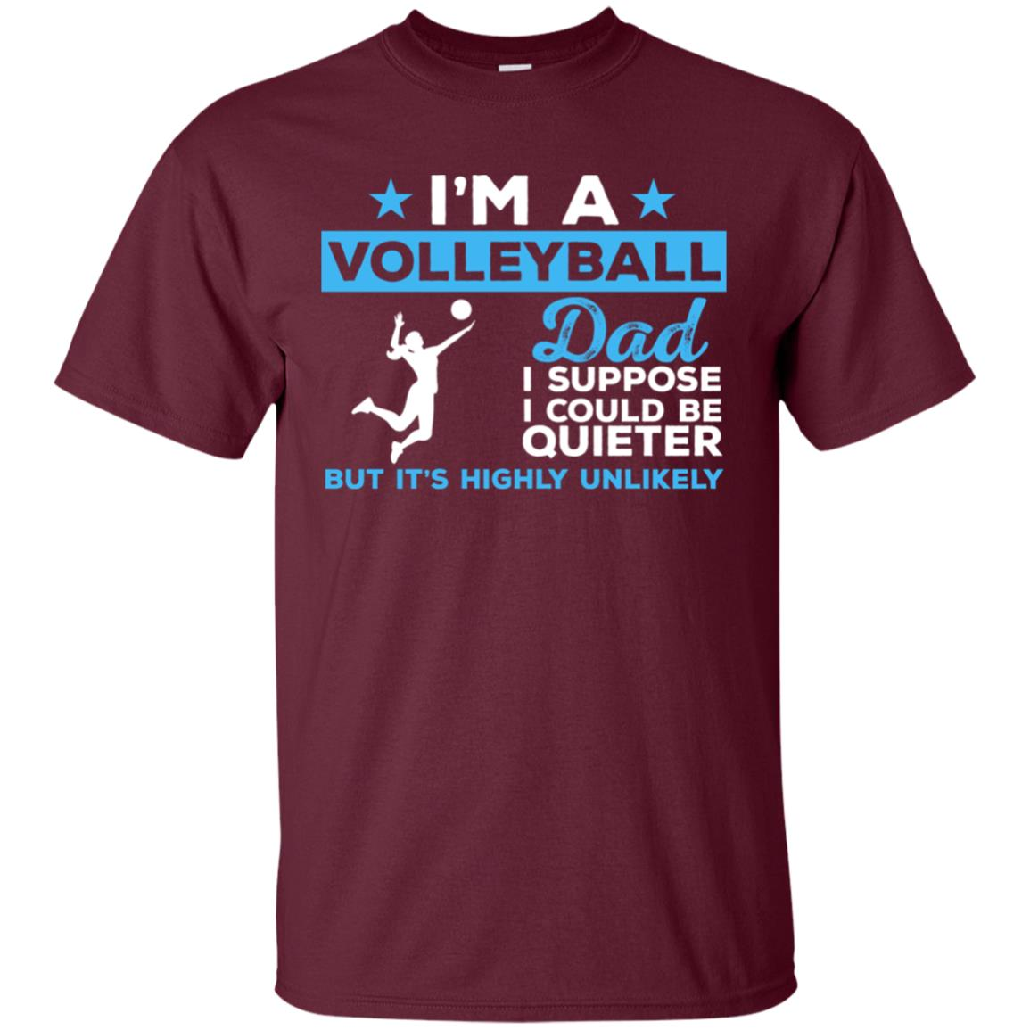 Funny Volleyball Dad Gift Unisex Short Sleeve