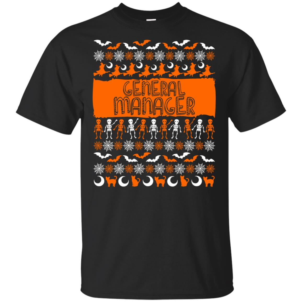 General Manager Ugly Halloween Unisex Short Sleeve
