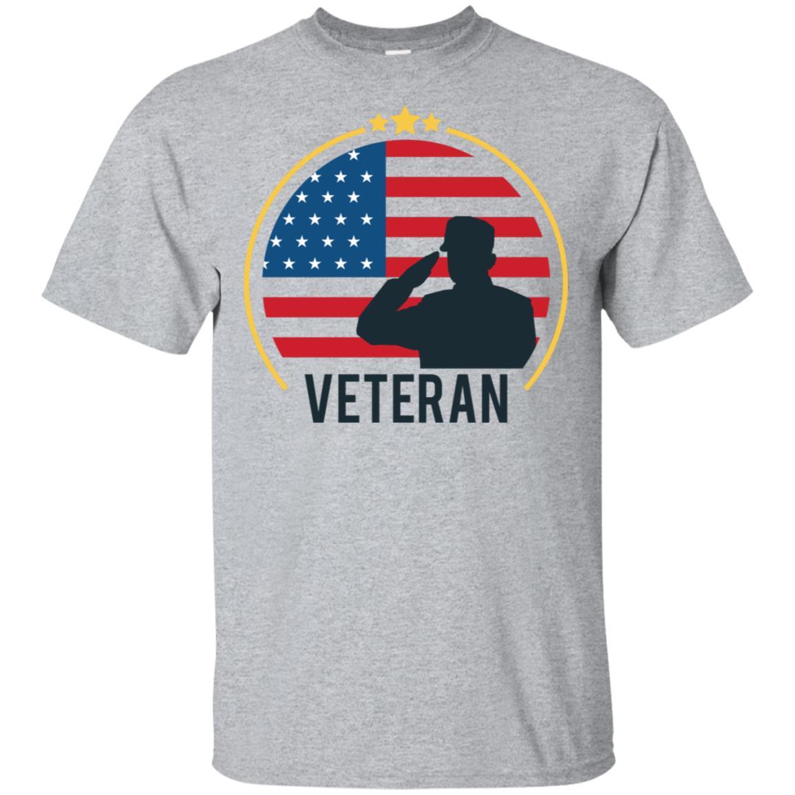 Veteran Army Usa Patriotic Unisex Short Sleeve