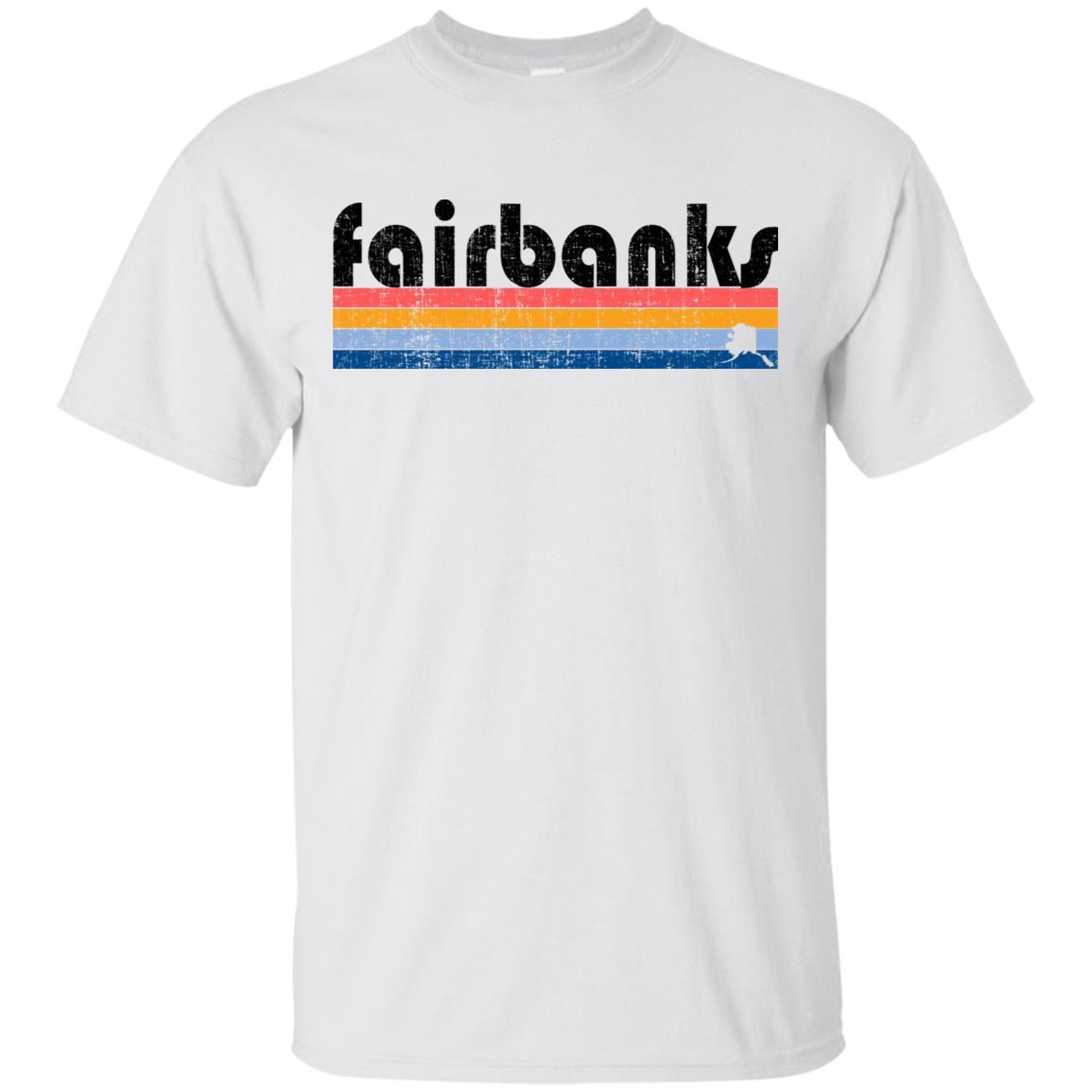 Vintage 80s Style Fairbanks Ak Unisex Short Sleeve