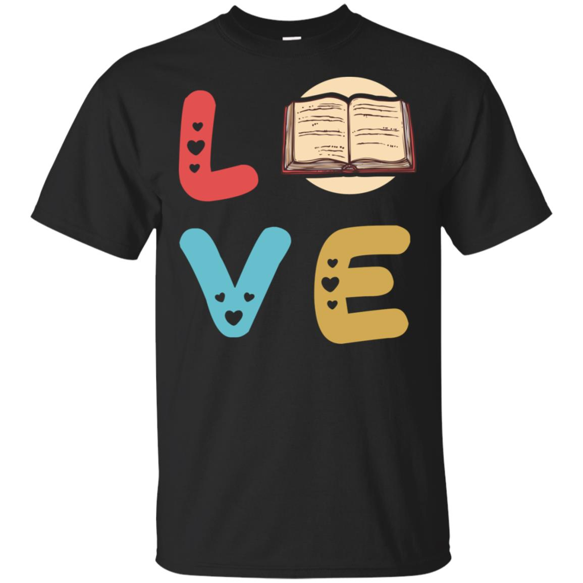 Vintage Love Funny Librarian ! Best Librarian Gifts Unisex Short Sleeve