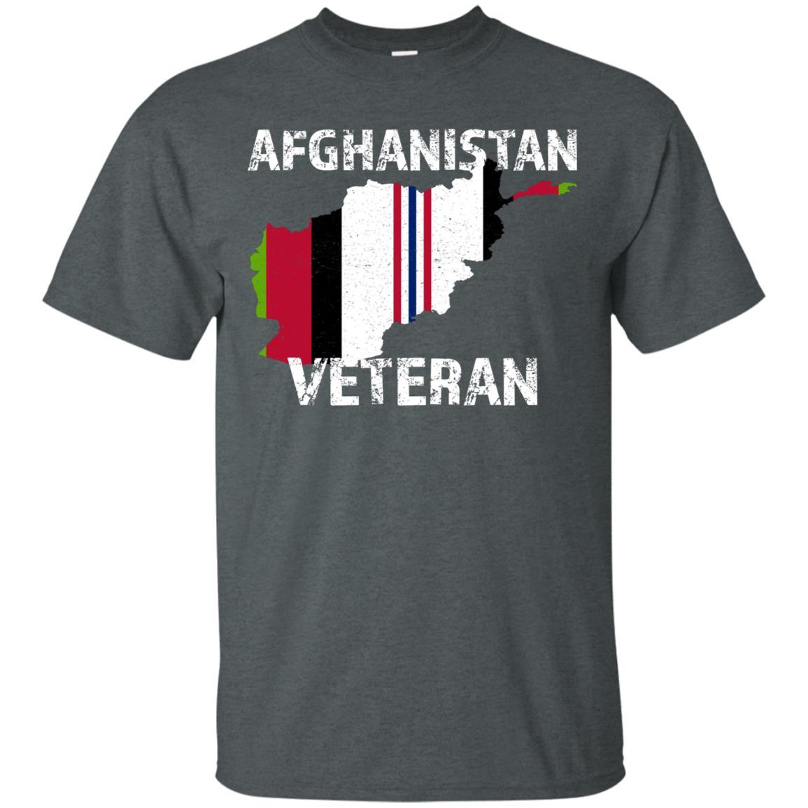 U.s. Military Afghanistan Veteran Vintage Vet Tee Unisex Short Sleeve