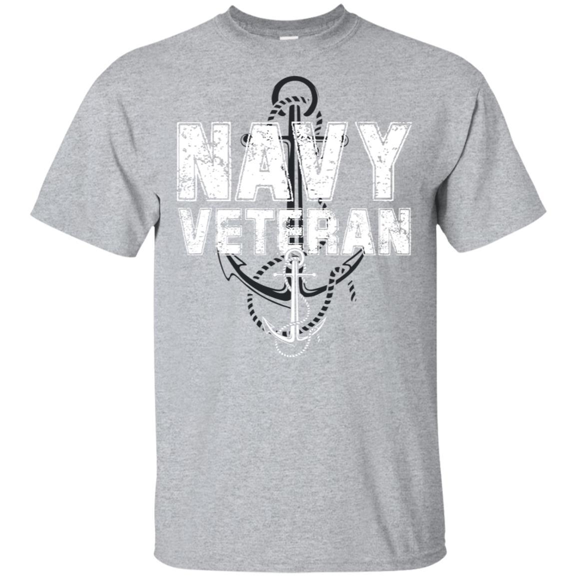 Us Military Veteran Navy For Men or Women Unisex Short Sleeve