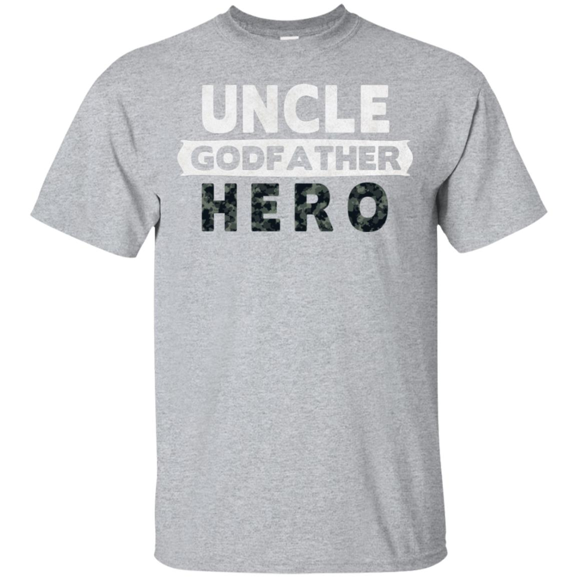 Uncle, Godfather and Hero – Military Hero Godfather Ls Unisex Short Sleeve