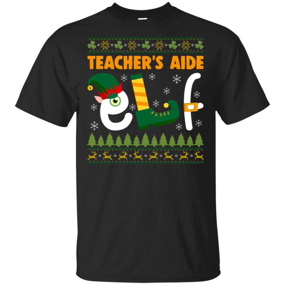 Teacher's Aide Elf Unisex Short Sleeve