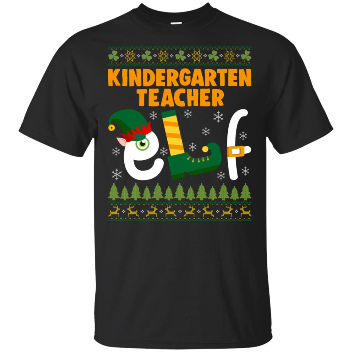 Kindergarten Teacher Elf Unisex Short Sleeve