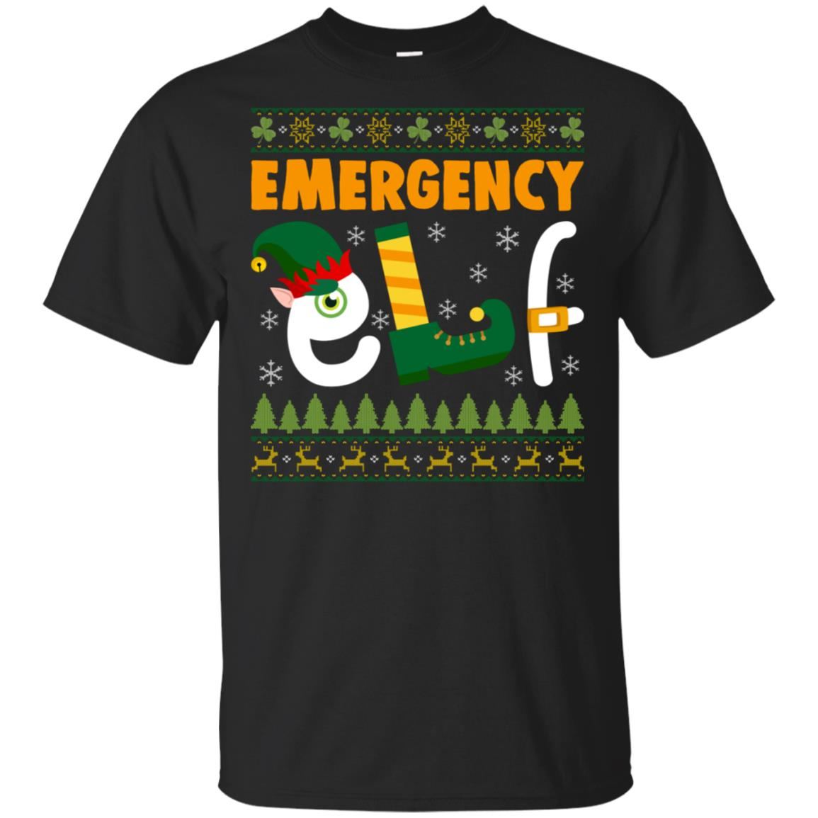 Emergency Elf Unisex Short Sleeve