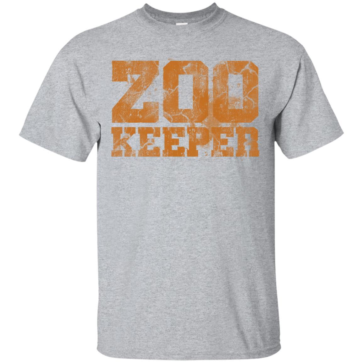 Zookeeper Animal Loving Zoo Employees Unisex Short Sleeve