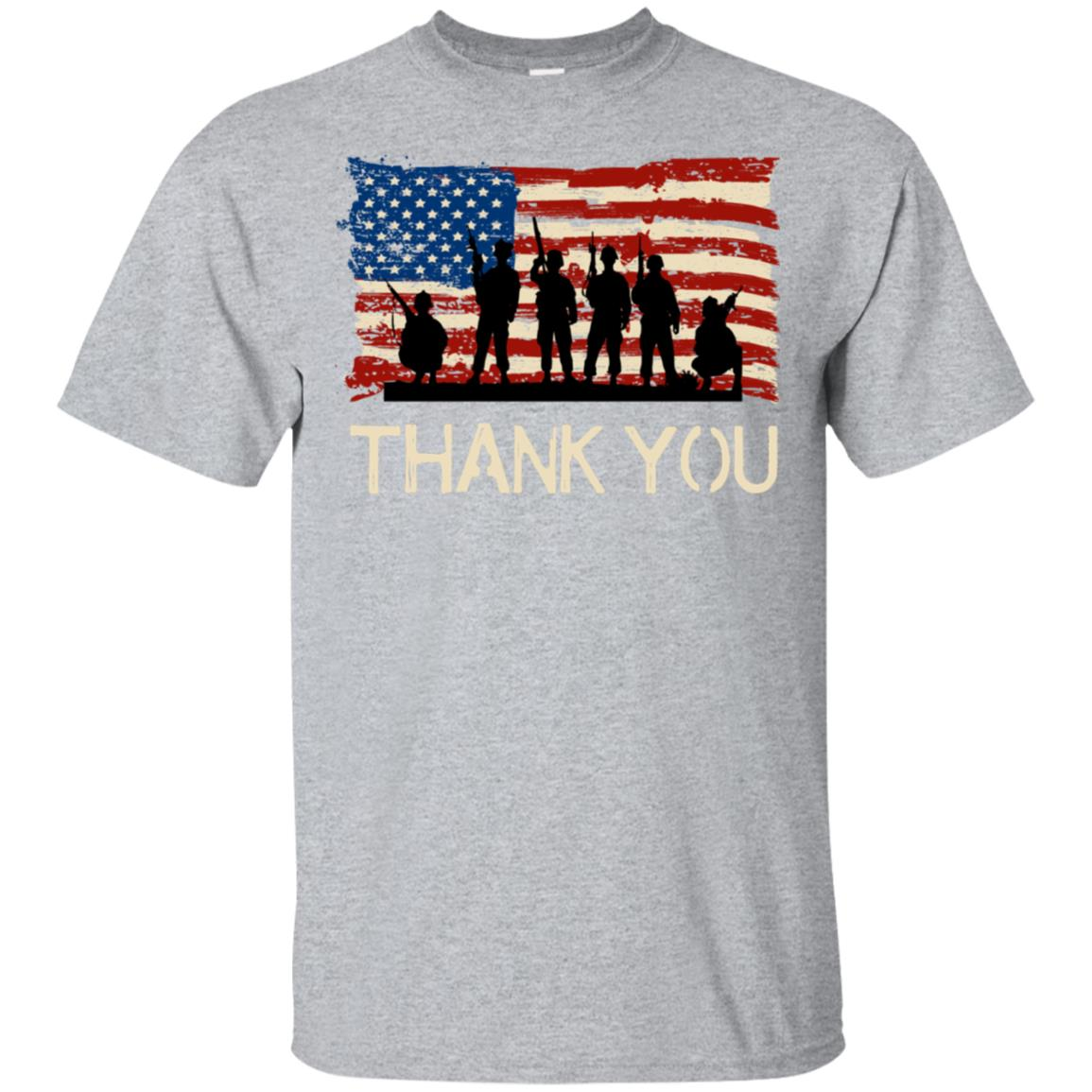 Veterans Day Memorial Day for Army or Navy Vets Unisex Short Sleeve