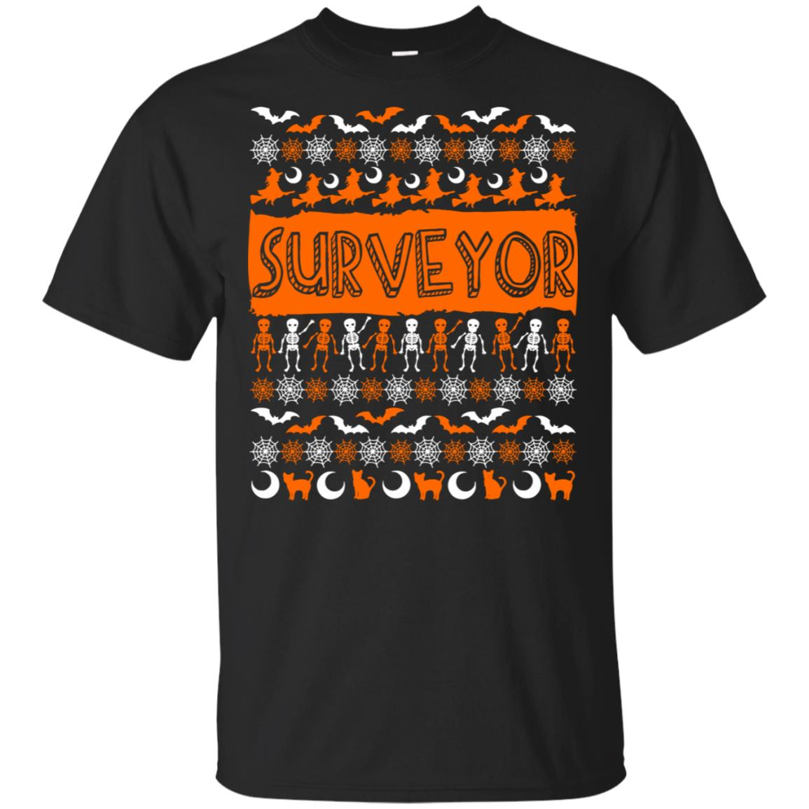 Surveyor Ugly Halloween Unisex Short Sleeve