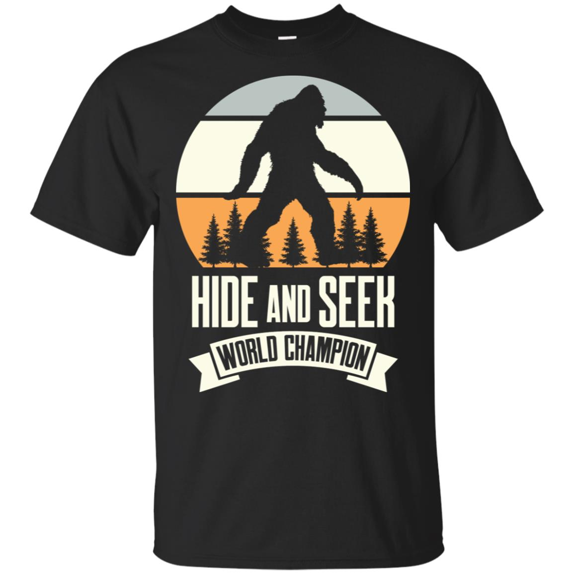 Bigfoot Hide Seek Champion Unisex Short Sleeve