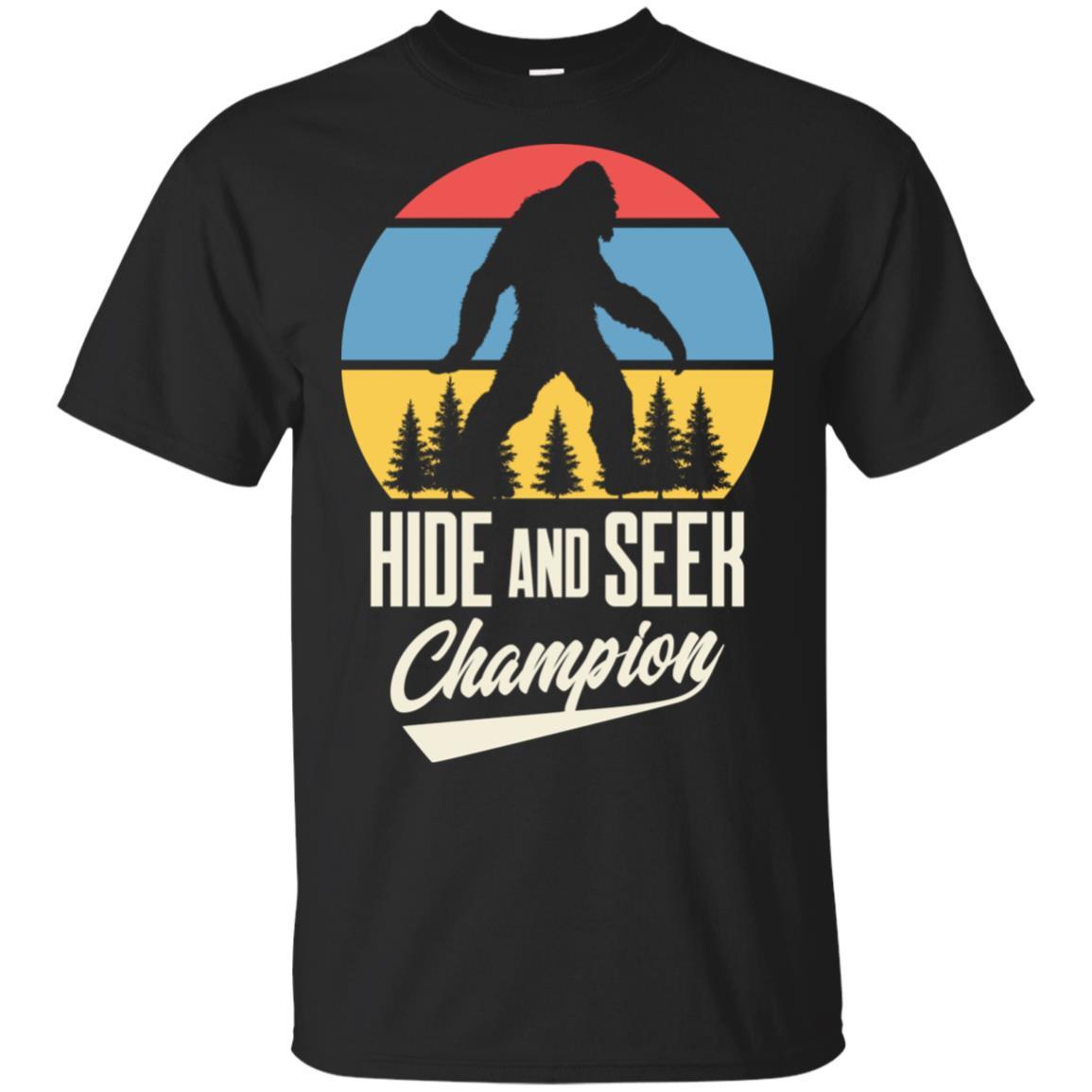 Bigfoot Hide and Seek Champion Bigfoot Unisex Short Sleeve