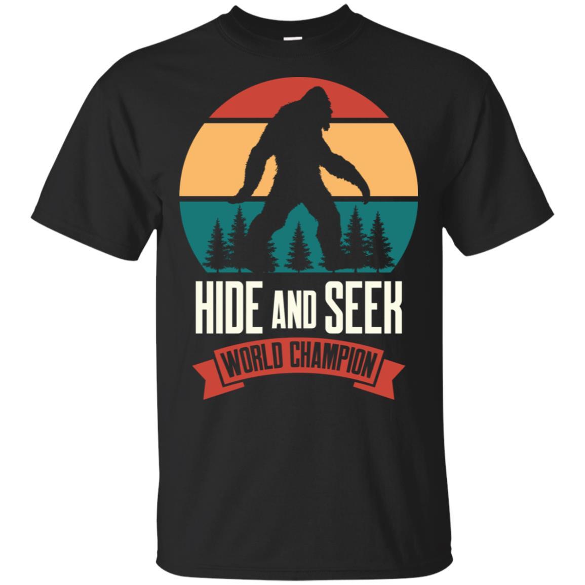 Bigfoot Hide and Seek Champion Bigfoot Hide Unisex Short Sleeve