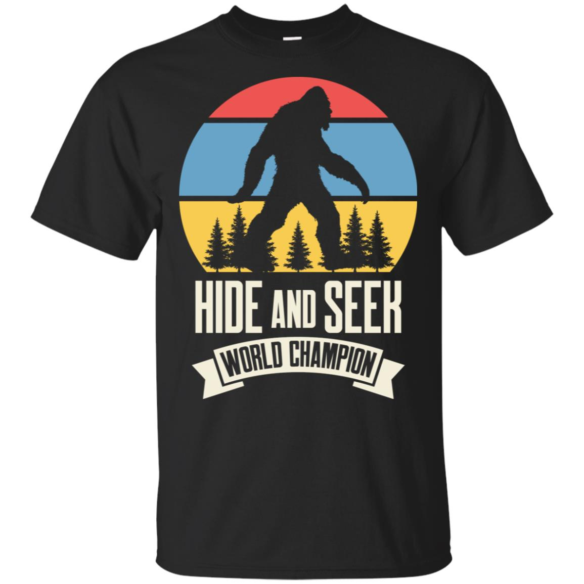 Bigfoot Hide and Seek Champion Unisex Short Sleeve