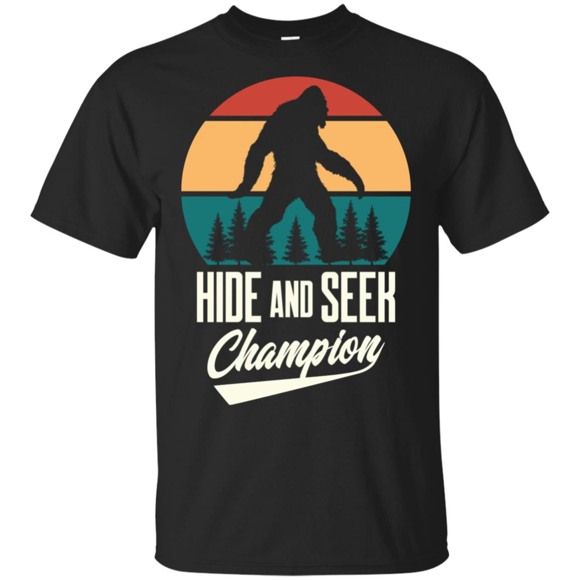 Hide and Seek Champion Bigfoot tee Unisex Short Sleeve