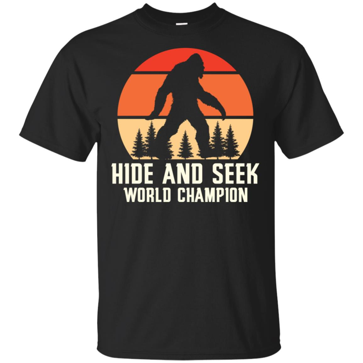 Hide and Seek Champion Bigfoot Unisex Short Sleeve
