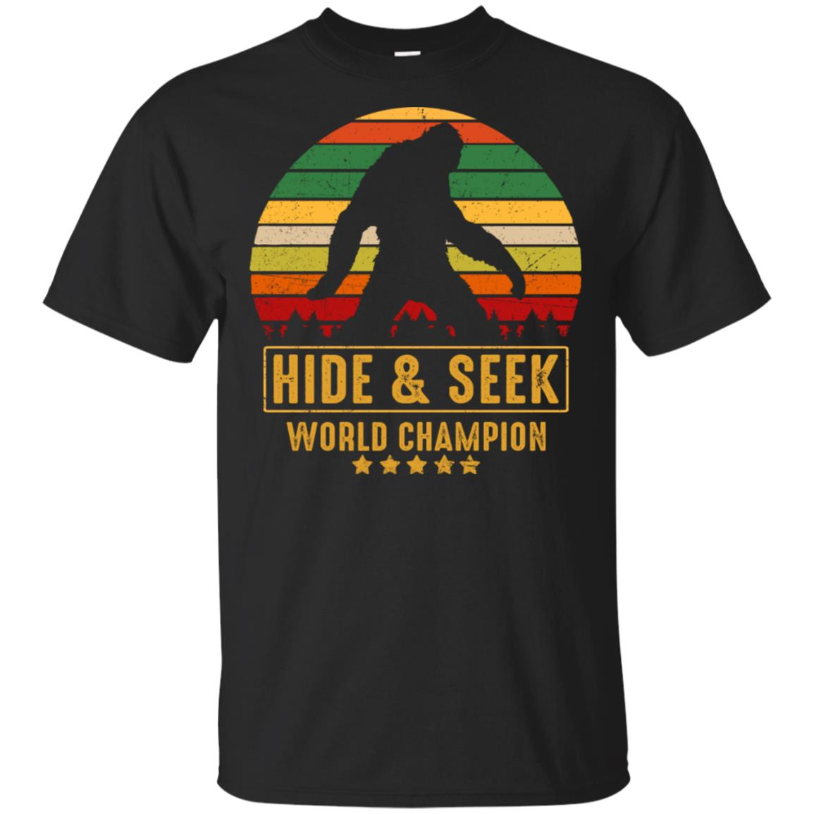 bigfoot hide and seek champion Unisex Short Sleeve