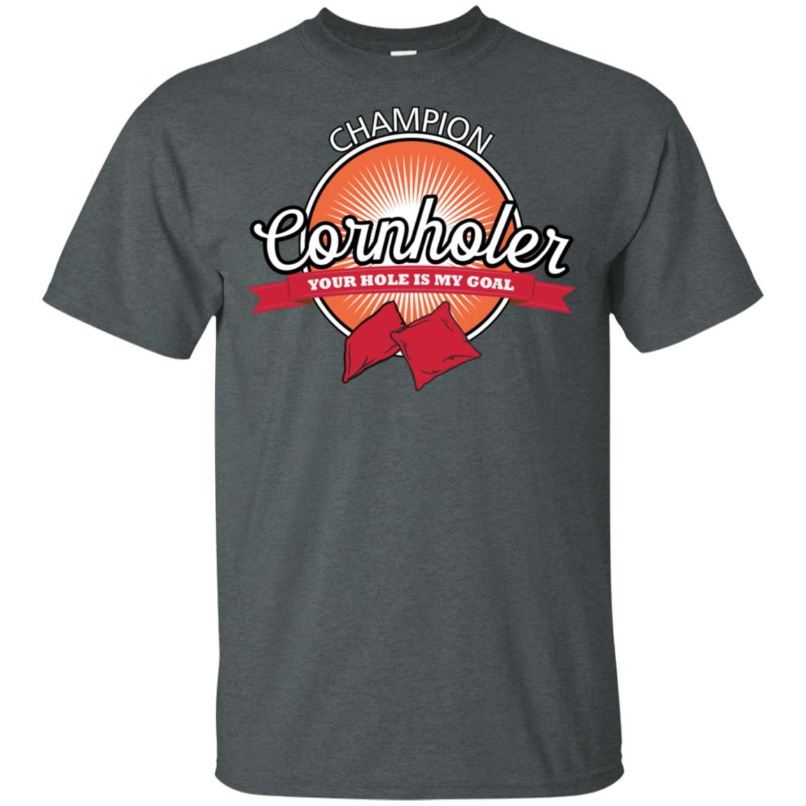 Champion Cornholer Funny Team Cornhole Unisex Short Sleeve