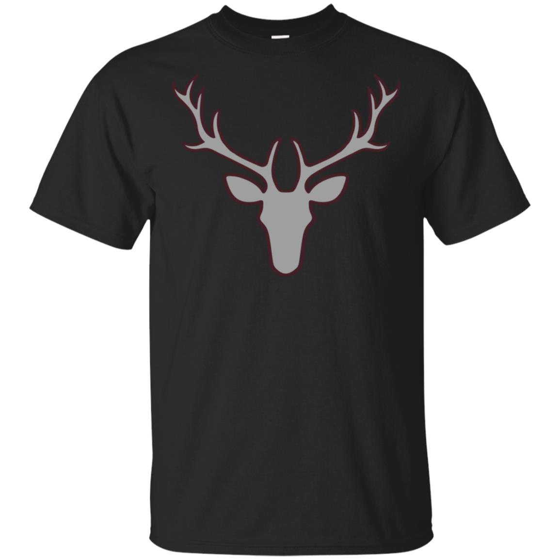 Stag Of The Season Fun Wild Life Antlers Unisex Short Sleeve