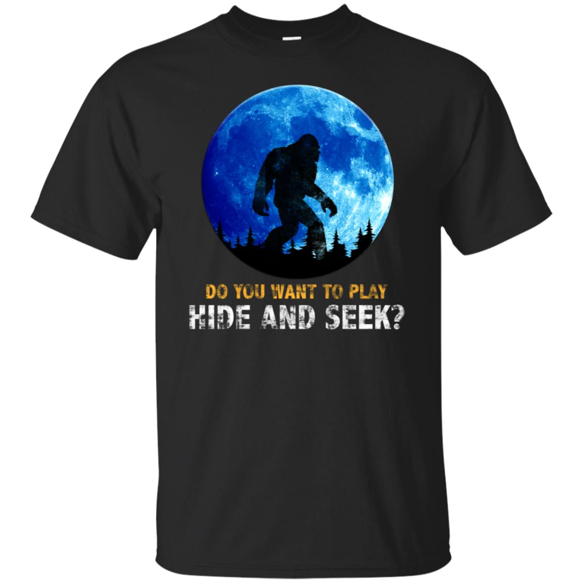 Bigfoot Hide and Seek Champion-1 Unisex Short Sleeve