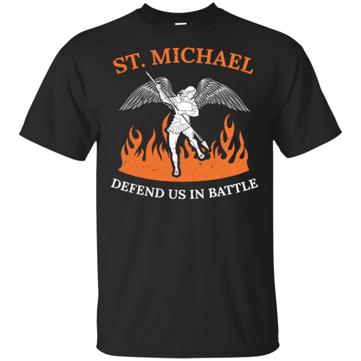 St Michael Defend Us Archangel Holy Catholic Angel Unisex Short Sleeve