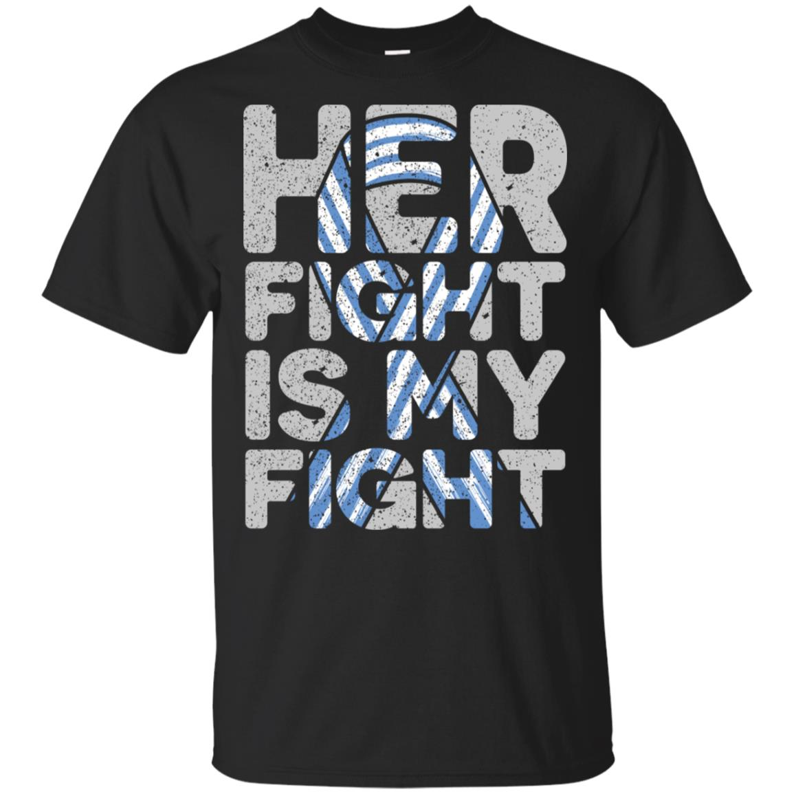 Her Fight is My Fight Als Awareness Unisex Short Sleeve