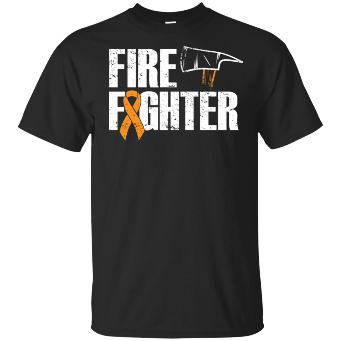 Firefighter Cancer – Leukemia Survivor Unisex Short Sleeve