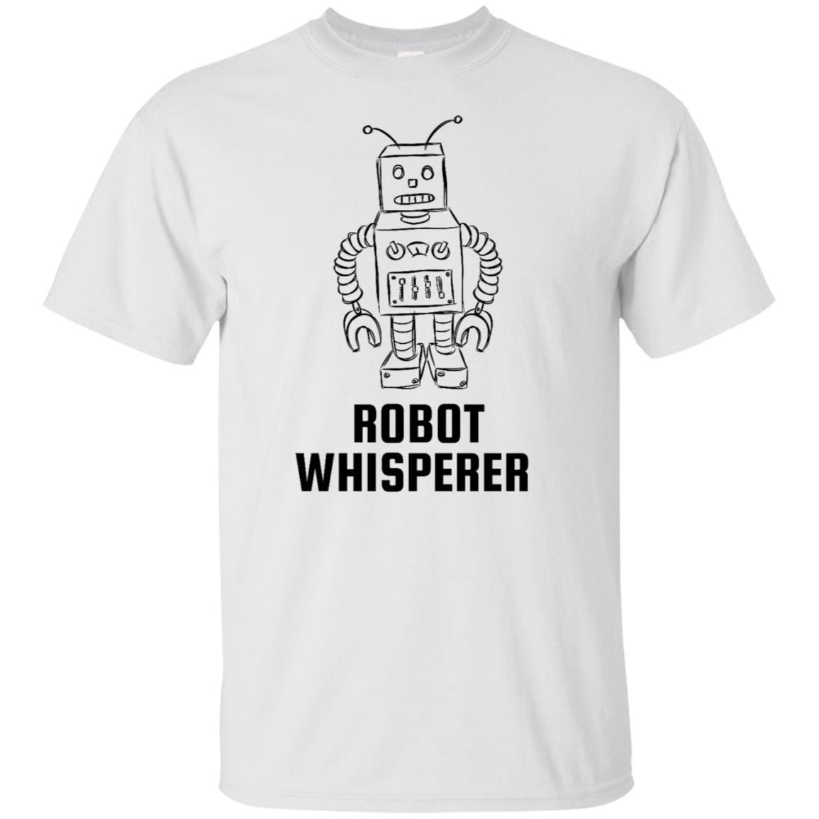 Robot Whisperer - Kids Funny Robot Unisex Short Sleeve