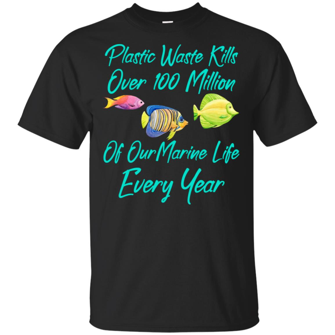 Stop Plastic Pollution Killing Sea Life Unisex Short Sleeve