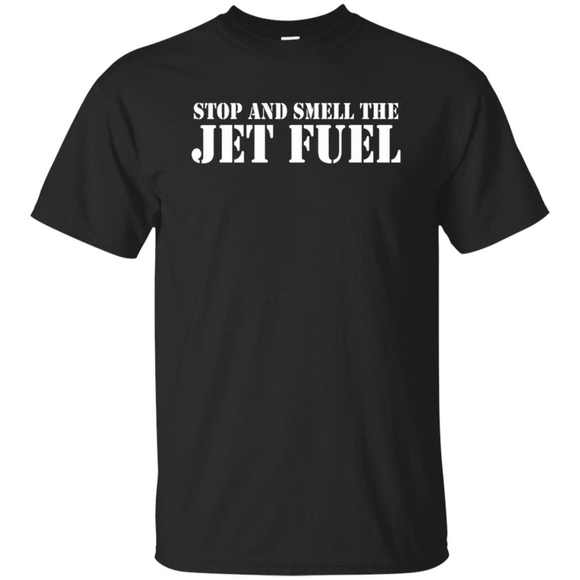 Stop and Smell the Jet Fuel Unisex Short Sleeve