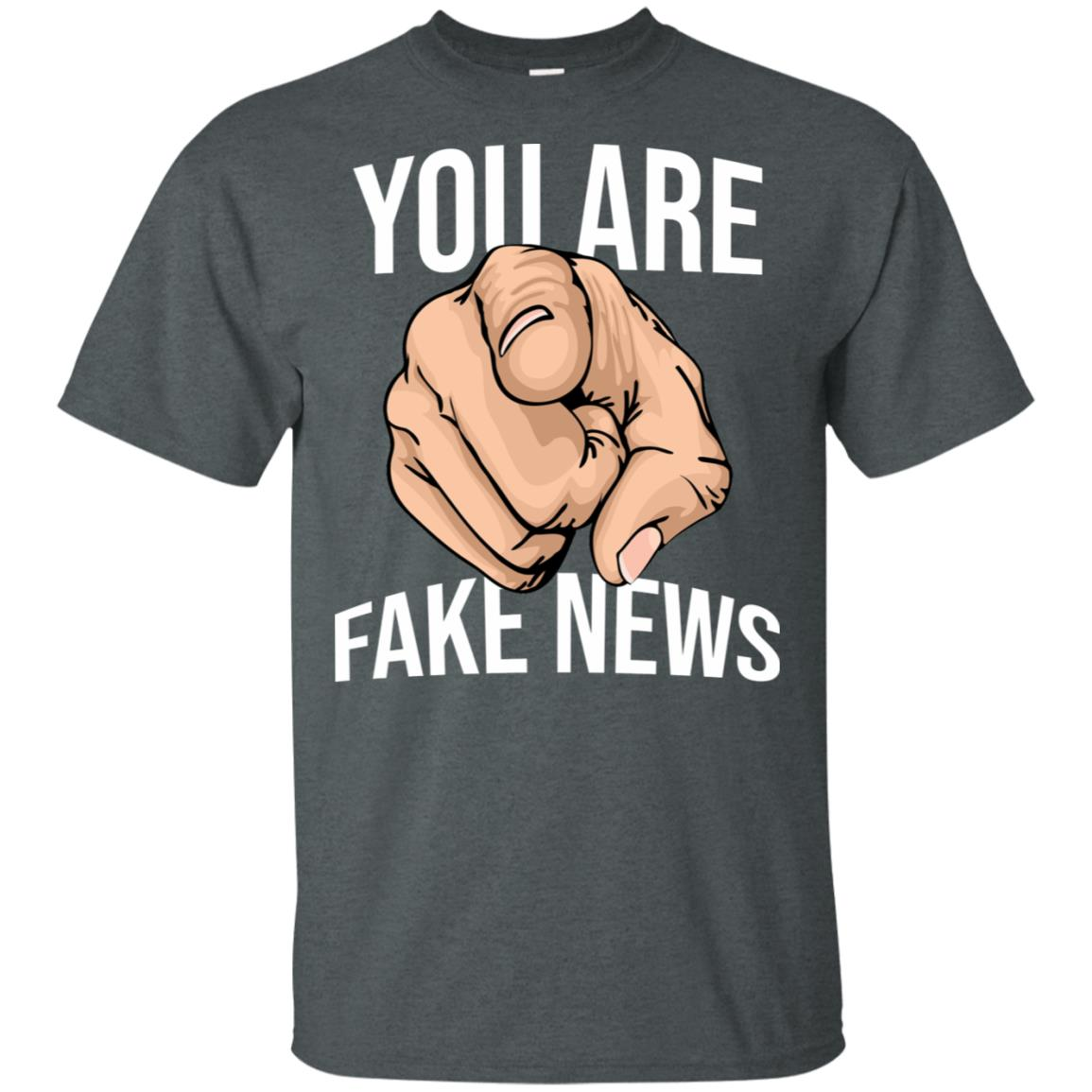 You Are Fake News, Funny Fake News Network-1 Unisex Short Sleeve