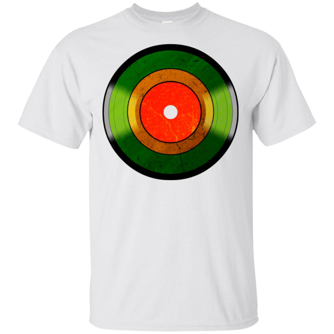 Rasta Vinyl One Love One Heart Rastafari Peace Unisex Short Sleeve
