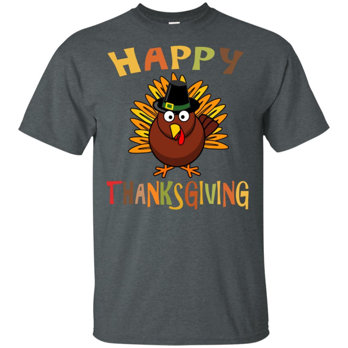 Thanksgiving Tshirt Happy Thanksgiving Unisex Short Sleeve