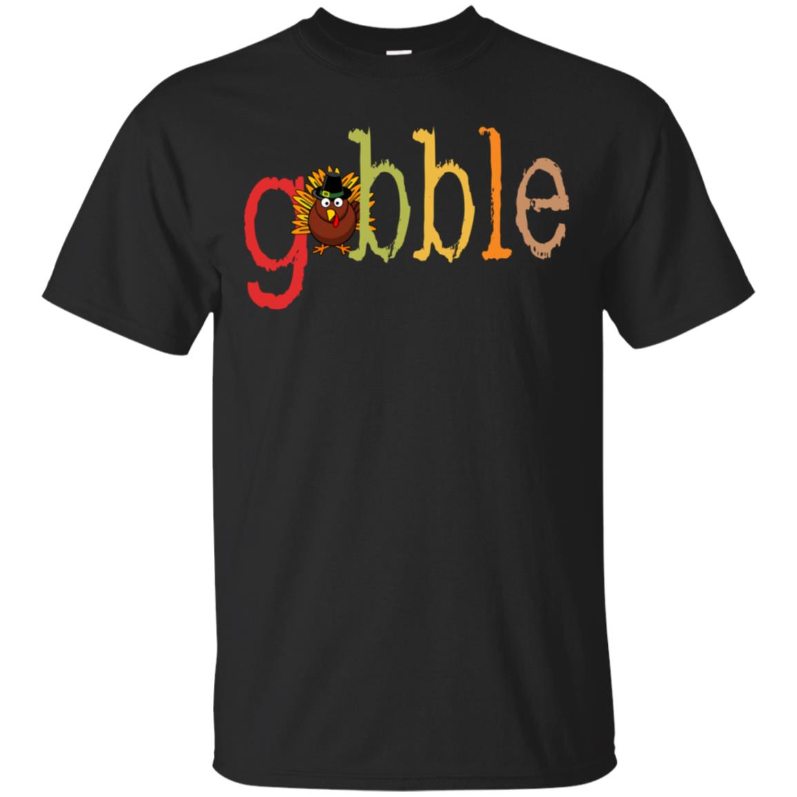 Thanksgiving Tee Gobble Turkey Unisex Short Sleeve