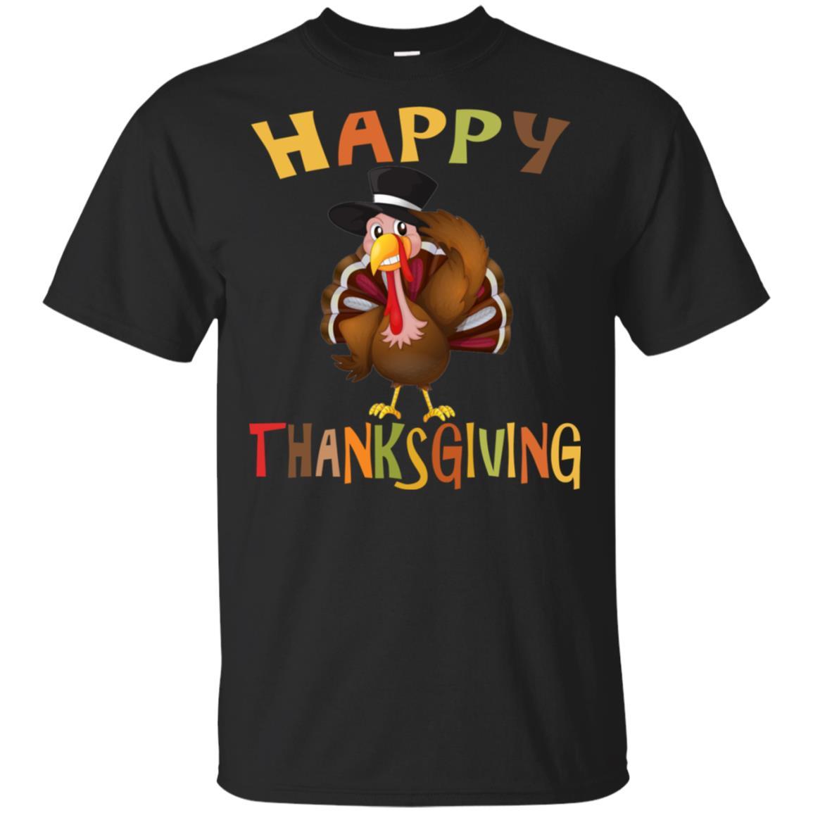 Happy Thanksgiving Tee shirt Unisex Short Sleeve