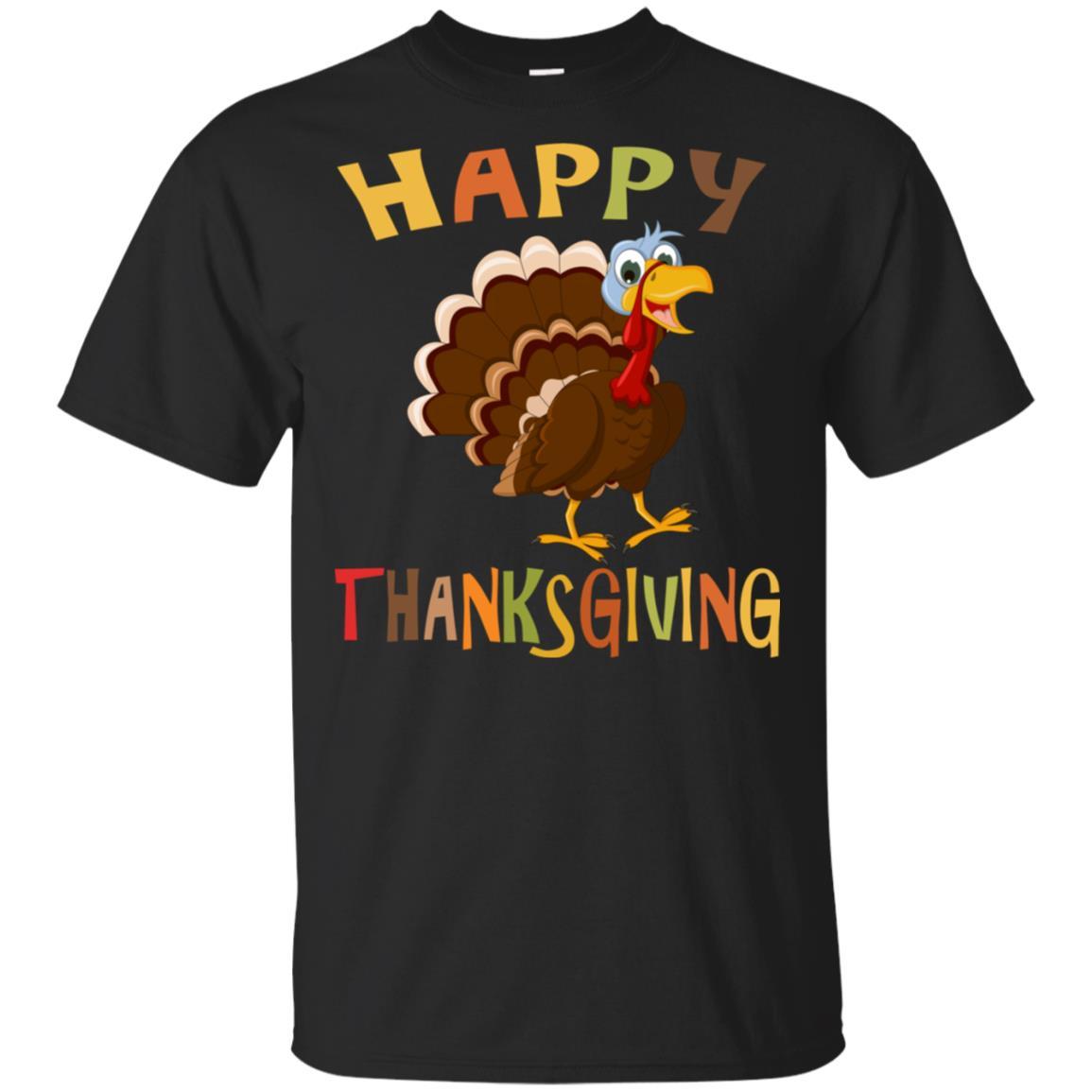 Happy Thanksgiving Tee Happy Thanksgiving Unisex Short Sleeve