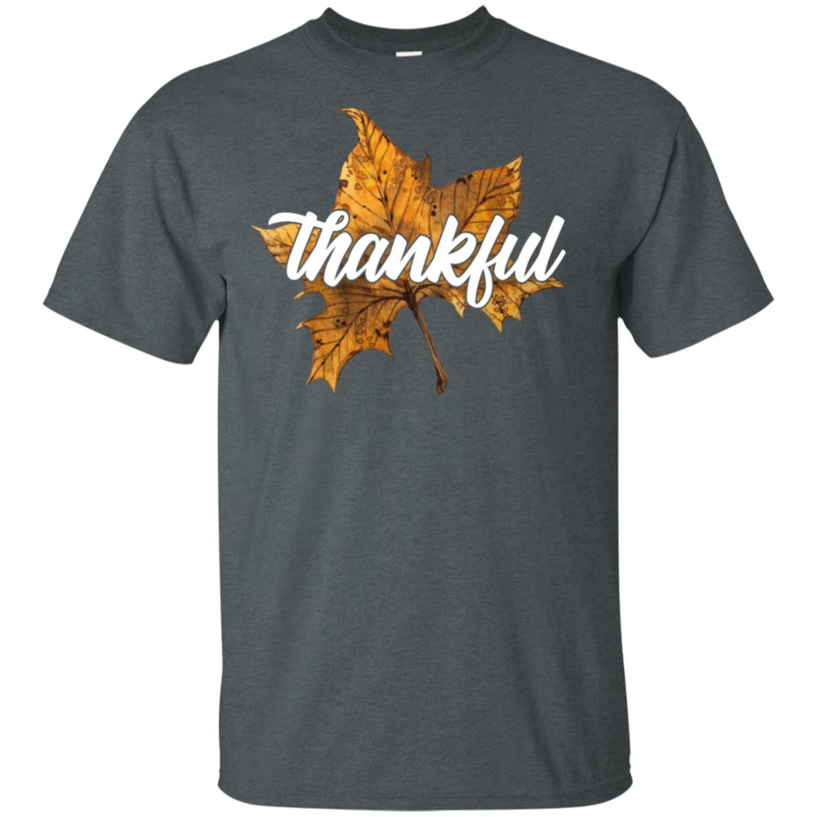 Autumn Leaves Thanksgiving Festival Holiday Gift Unisex Short Sleeve