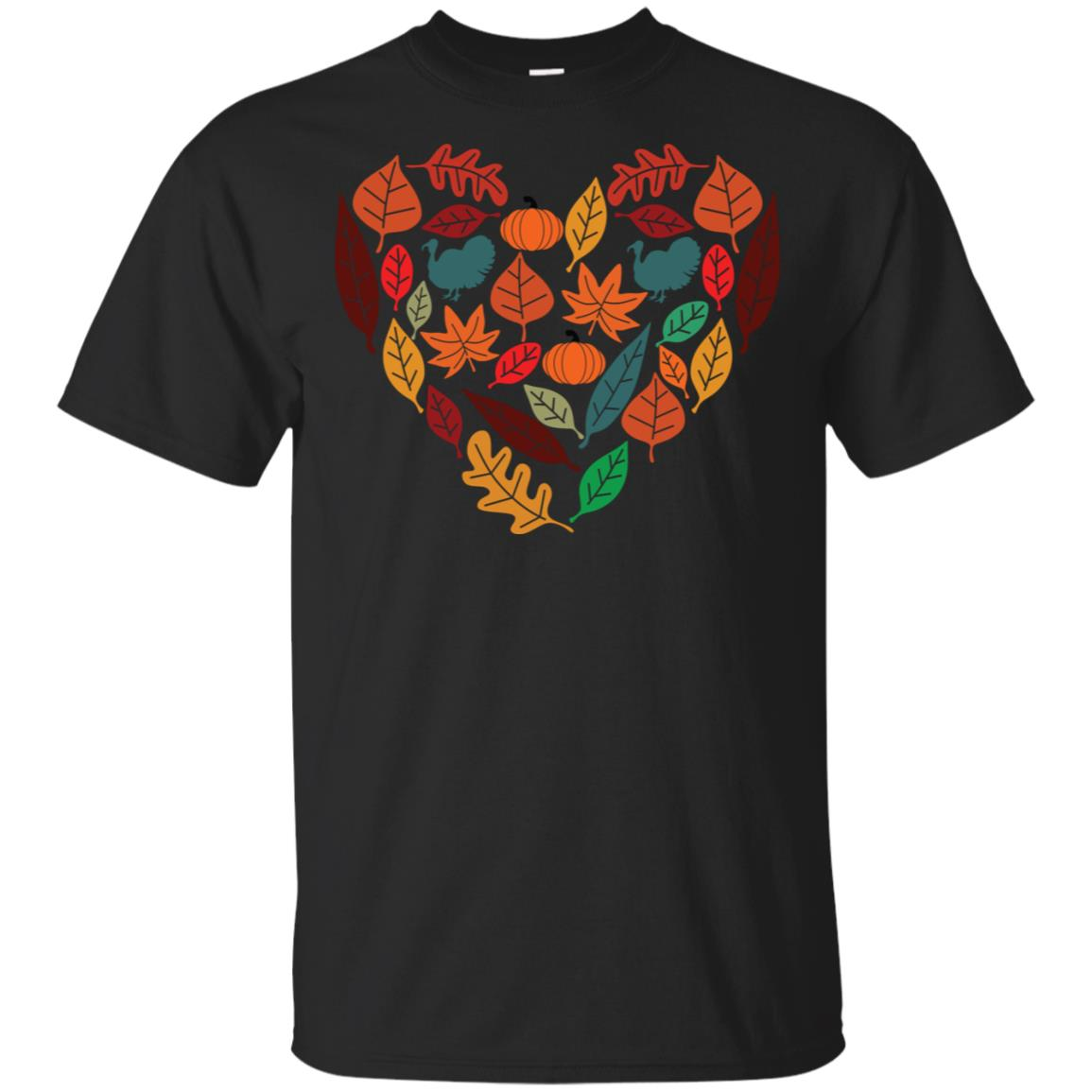 Cute Autumn for Women Thanksgiving Holiday Unisex Short Sleeve
