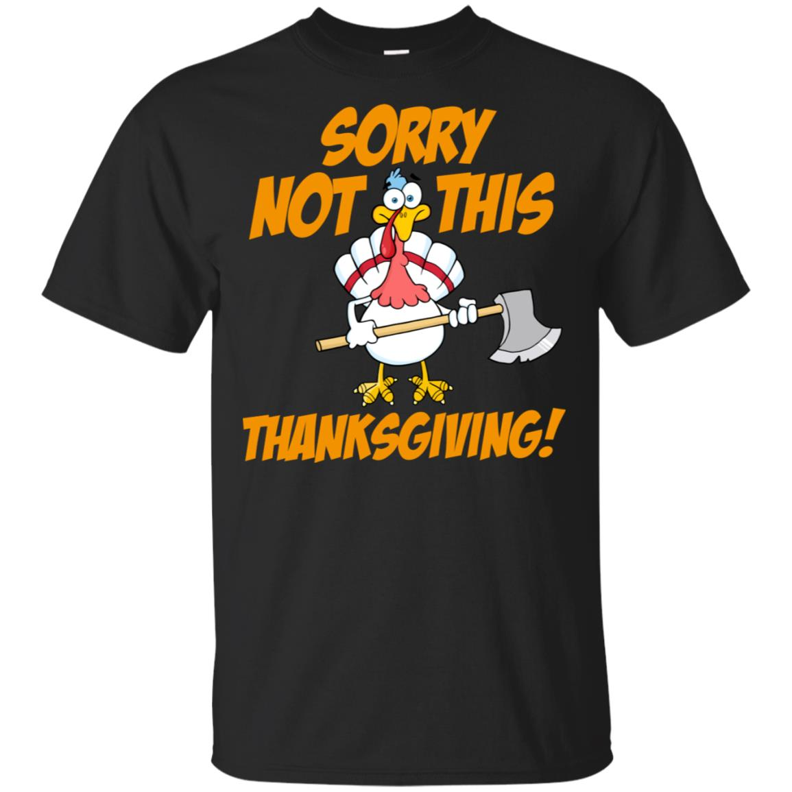 Not This Thanksgiving Turkey Vegan Vegetarian Gift Unisex Short Sleeve