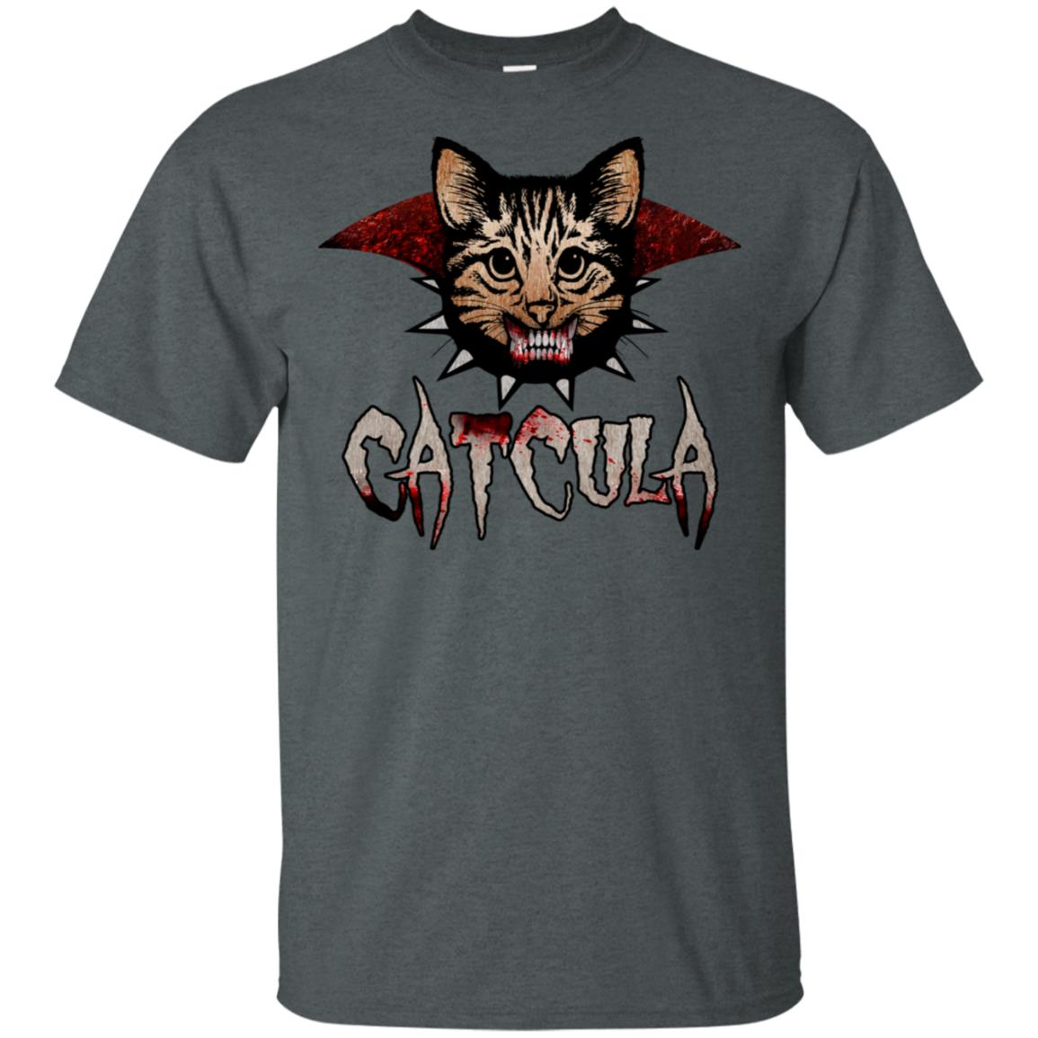 Scary Catcula Cat Vampire Halloween Unisex Short Sleeve