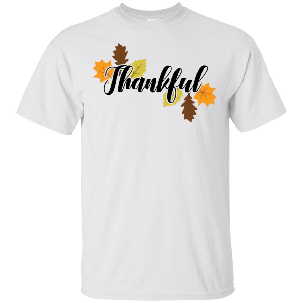 Thanksgiving Autumn Leaves Holiday Gift Women Unisex Short Sleeve