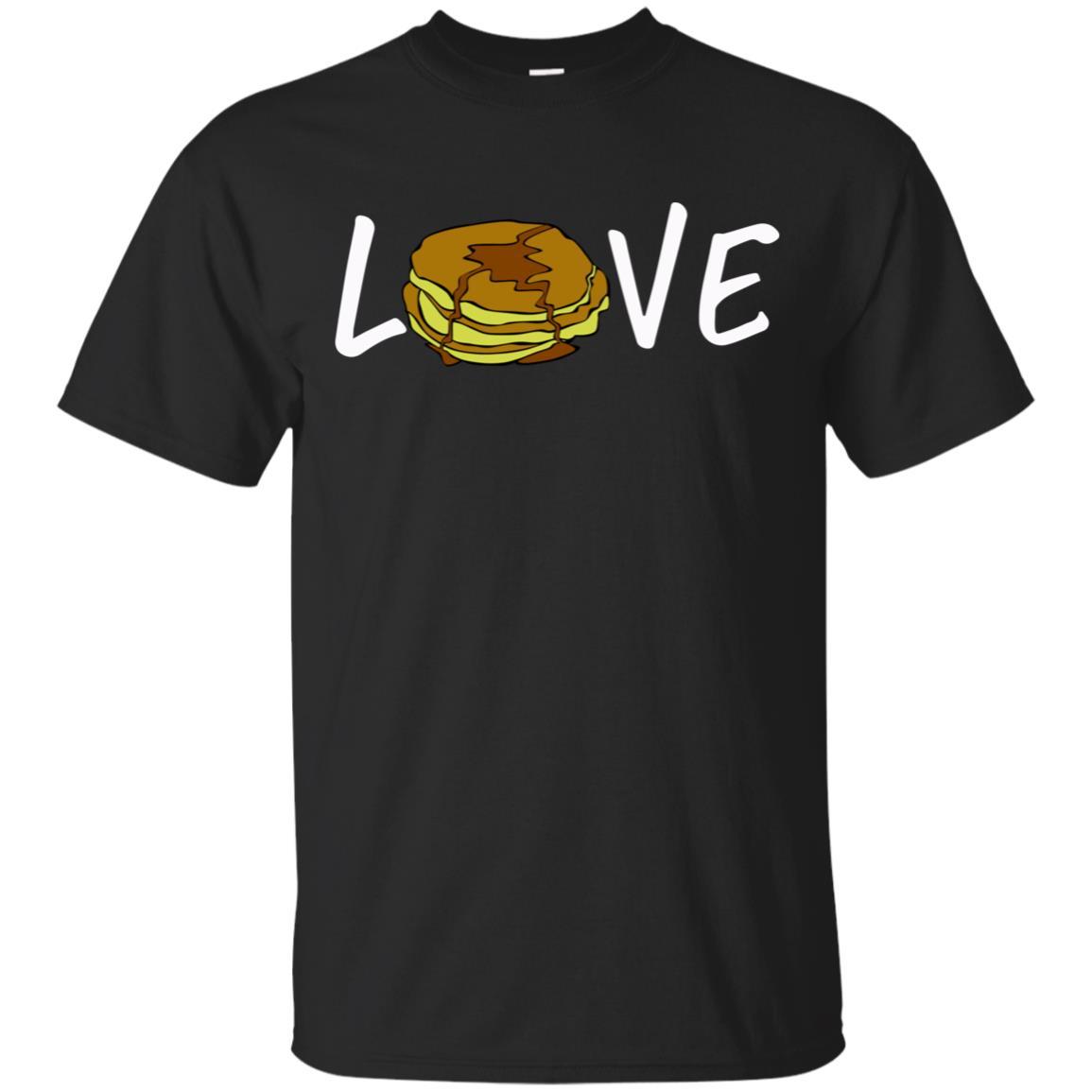 Breakfast Gift Pancake Pancake Love Unisex Short Sleeve