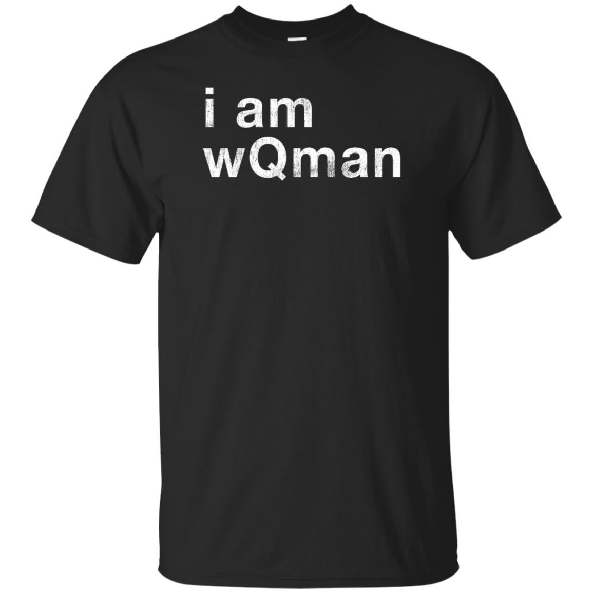 I Am WQman #q QAnon Unisex Short Sleeve