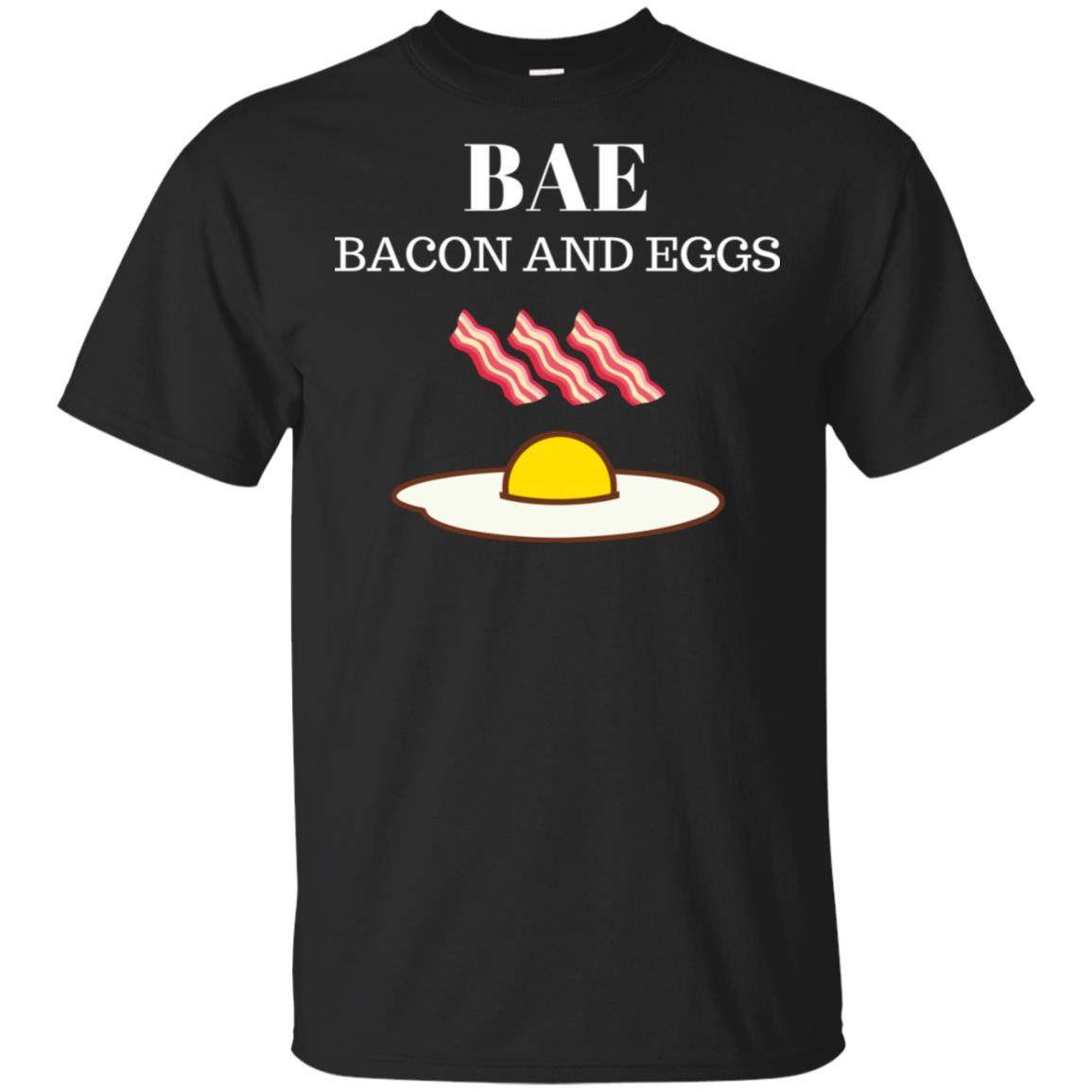 Funny Bae Bacon and Eggs for Bacon Lovers Unisex Short Sleeve