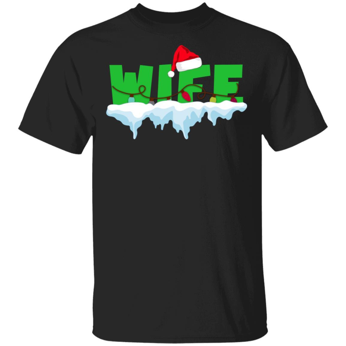 Wife Merry Xmas Gifts Unisex Short Sleeve
